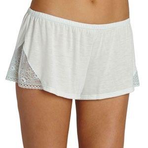 Eberjey Valeria Shorts Light Mint Mint Splash